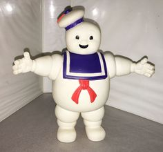 1986 STAY PUFT MARSHMALLOW MAN • C7-8 • VINTAGE THE REAL GHOSTBUSTERS #Kenner