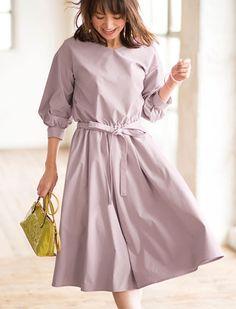 パフスリーブワンピース | レディースファッション通販サイトFABIA(ファビア)