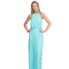 Annie Griffin Cotton Lace Natalie Maxi Dress