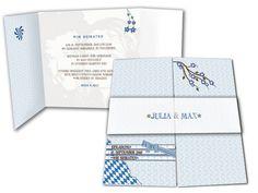 Hochzeitskarte+-+Bayrisch+-+Wiesnhochzeit+-+Trachtenhochzeit