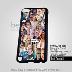 AJ 4419 Tyler Oakley' Collage for iPod 5 Case
