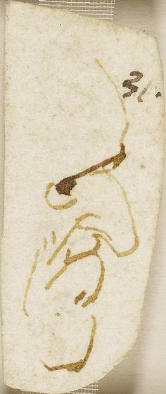 A head of a man in profile Leonardo da Vinci (Vinci 1452-Amboise 1519)   #TuscanyAgriturismoGiratola