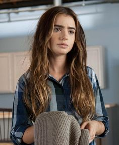 Karen by Lily Collins in Abduction, 2011