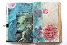 @punkprojects  | Season of Introspection | Get Messy Art Journal