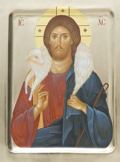 Icon of Jesus Christ the Good Shepherd