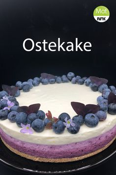 Norwegian Food, Dessert Recipes, Desserts, Let Them Eat Cake, Cheesecakes, Nom Nom, Food And Drink, Birthday Cake, Sweets