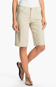 #NYDJ                     #Bottoms                  #NYDJ #'Haley' #Stretch #Denim #Shorts #(Regular #Petite) #Pumice             NYDJ 'Haley' Stretch Denim Shorts (Regular & Petite) Pumice 16P                                         http://www.snaproduct.com/product.aspx?PID=5425467