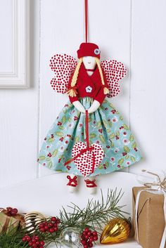 Angel christmas tree ornaments to make angel christmas ornaments home decor Christmas Tree Ornaments To Make, Christmas Angel Crafts, Christmas Fairy, Christmas Sewing, Christmas Projects, Handmade Christmas, Christmas Decorations, Birthday Decorations, Christmas Poinsettia