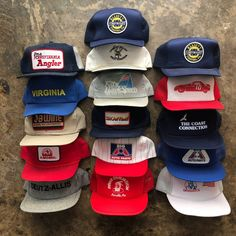 Vintage Trucker & Farmer Hat Lot Bundle on Mercari Vintage Trucker Hats, Vintage Hats, Boosie Badazz, Sketch Tattoo Design, Tall Boys, Diamond Supply Co, Diy Pallet Furniture, Film Aesthetic, Caps Hats