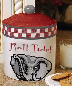 Look what I found on #zulily! Alabama Game-Day Cookie Jar by The Memory Company #zulilyfinds