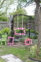 frame idea for a party,,cute Fairy Garden Birthday Party Ideas Fairy Birthday Party, Garden Birthday, 1st Birthday Parties, Birthday Ideas, Fiesta Party, Fairy Tea Parties, Tinkerbell Party, Butterfly Party, Party Time