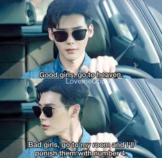 I'm a very bad girl kang chul-ah . Lee jong suk - W two worlds drama ♥ W Kdrama, Kdrama Memes, Kdrama Actors, Bts Memes, Jung Suk, Lee Jung, Jung Yong Hwa, Korean Drama Funny, Korean Drama Quotes