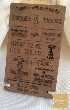 Wedding Invite - Country Style