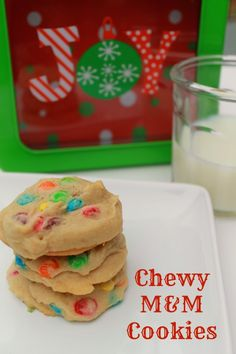 Chewy M Cookies Recipe. Yum yum yum!! Definitely trying this one out