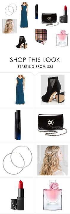 """Club Party"" by aakankshagarg on Polyvore featuring La Femme, ALDO, Shiseido, Chanel, Melissa Odabash, NARS Cosmetics and Lancôme"