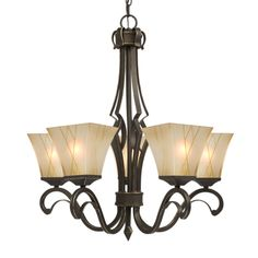Shop Galaxy Lighting  810443O Cheyenne 5-Light Chandelier at ATG Stores. Browse our chandeliers, all with free shipping and best price guaranteed.