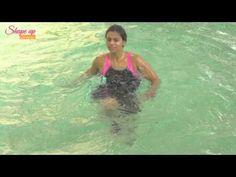 Toned & fit legs with pool exercises & water workouts - Learn Aqua Aerobics Online - YouTube