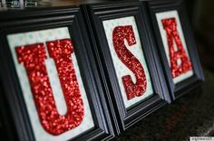 Great thrift store makeover idea. Just add glitter