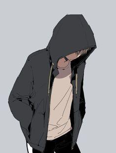 "【Original】 ""Assembled / Illustration by ""Asa"" [pixiv] Cool Anime Guys, Cute Anime Boy, Anime Boys, Dark Anime, Hot Anime, Anime Boy Zeichnung, Bakugou Manga, Wie Zeichnet Man Manga, Image Manga"