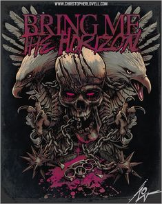 Bring Me The Horizon - Chained Wings by Lovell-Art.deviantart.com on @deviantART