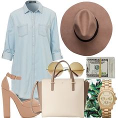 Untitled #734 by kgoldchains on Polyvore featuring Kate Spade, Michael Kors and Milly