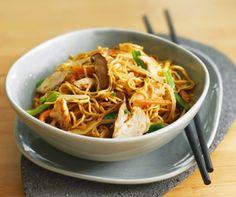 Nouvel An Chinois : Les meilleurs plats de viande et de volaille Nouilles sautées au porc