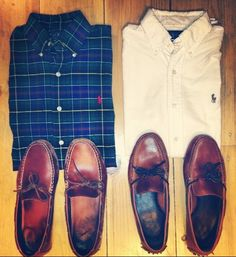 David needs the shoes on the left for the Summer.