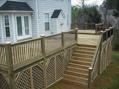 under deck ideas | under deck lattice design image search results