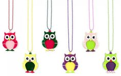 I love Apple Pie Jewelry - many designs in bright happy colors.  Great for a young girl's gift basket.