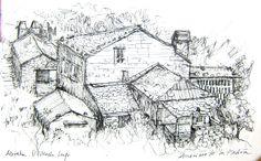 Abrela...O Vicedo...Lugo...Spain. Author : Anónimo de la Piedra