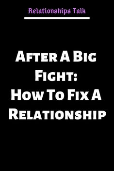Getting into a fight from time to time is a totally normal (but unfortunate!) part of being in a relationship. Anyone who is or has ever been in a romantic relationship with another person will kno… Relationship Fighting Quotes, Ending A Relationship, Relationship Issues, Fight With Boyfriend, Boyfriend Quotes, Fixing Relationships, Healthy Relationships, Fight For Love Quotes, Fighting Fair
