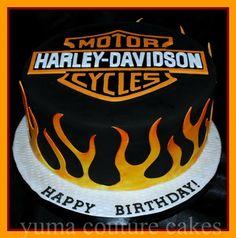 Picture: Harley Davidson cake in Yuma Arizona provided by Yuma Couture Cakes Yuma, AZ 85364