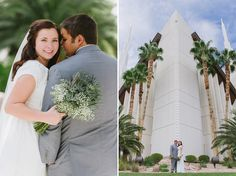 Las Vegas LDS Temple Wedding - Robyn & Dylan