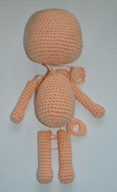 Mesmerizing Crochet an Amigurumi Rabbit Ideas. Lovely Crochet an Amigurumi Rabbit Ideas. Crochet Simple, Cute Crochet, Crochet Crafts, Crochet Toys, Crochet Projects, Yarn Crafts, Doilies Crochet, Knitted Dolls, Crochet Beanie