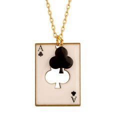 COLLIER CARTE TRÈFLE.  Rami, Blackjack, Poker, Belotte... saurez-vous placer vos cartes et remportez la partie ?   Avec cette collection signée N2, devenez un expert en bluff et en stratégie pour battre votre adversaire. Mettez tous les atouts de votre côté et n'oubliez pas de sortir votre Joker !
