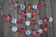 Airplane and Cloud Theme Happy Birthday Banner, can be customized for any birthday $28+sh www.etsy.com/people/BeanBugCrafts