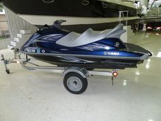 2012 Yamaha 1100 Wave Runner VX Cruiser powered by Yamaha  64.9 hours also has reverse, 3 seater with Triton trailer. Automatic Siphon, Underseat Storage,  Glove Box / Dash Storage, Front Storage, Digital Instrumentation, Rearview Mirrors,   Fuel Injected,  4-Stroke, full cover. Does have scuffs and scratches as you can see in pictures but doesn't affect performance. $6,500.00