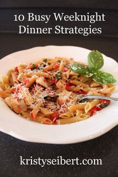 10 strategies to make dinnertime easier for you and your family!