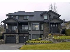 ✔ 52 most popular modern dream house exterior design ideas 23 > Fieltro. Dream Home Design, Modern House Design, My Dream Home, Dream House Exterior, Dream House Plans, House Ideas Exterior, Black Trim Exterior House, Big Houses Exterior, House Exteriors