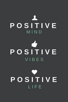 Stay positive! #quotes