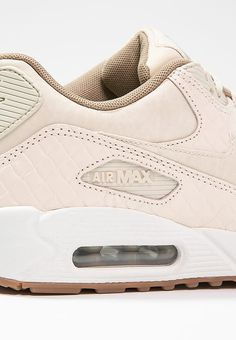 timeless design 6ef04 55f64 AIR MAX 90 PREMIUM - Baskets basses - oatmeal sail khaki - ZALANDO.FR
