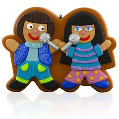 2015 Dreambook -I Got You Babe Gingerbread-style Musical Ornament