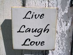 Live Laugh Love Reclaimed Wood Wall Art Inspirational Quote Live Love Laugh Wood Wall Art Reclaimed Wood Art Reclaimed Wood Rustic Wall Art by BlackCrowCurios on Etsy