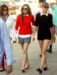 Hallie and taylor shopping