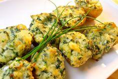 Spinach & Artichoke Stuffed Baked Potatoes