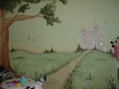 Fresh Paint | Children's Fairy Princess Castle in Playroom