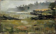 Kansallisgalleria - Taidekokoelmat - Sumumaisema