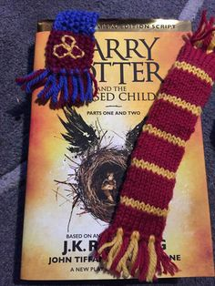 Harry Potter Scarf Bookmarks: 2 Steps (with Pictures)