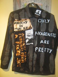 SEDITIONARIES LOOK ANARCHISTS ARE PRETTY SHIRT SEX PISTOLS M MENS PATCHY REPRO