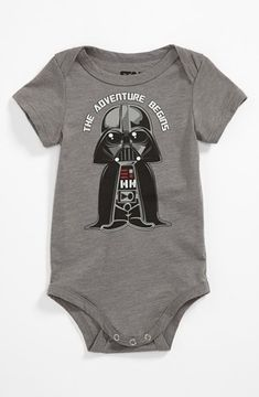 Mighty Fine 'Vader Adventure' Bodysuit (Baby)